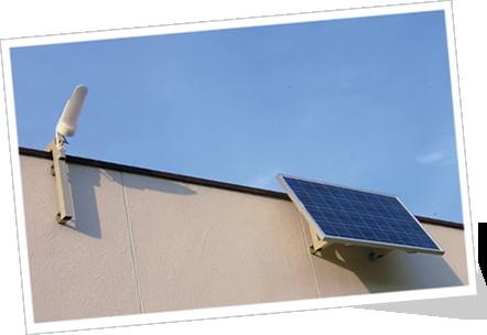 小型ソーラー発電電源装置